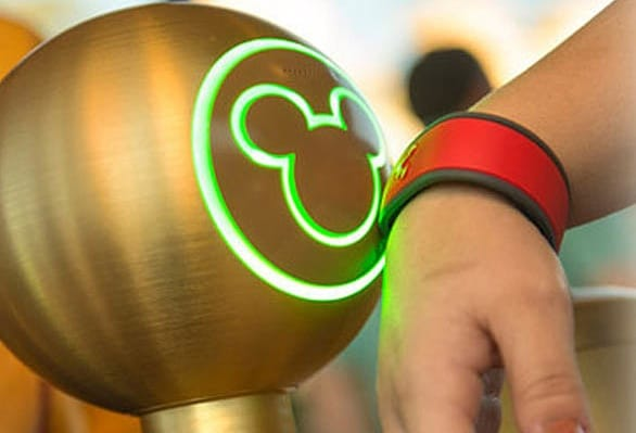 Scanning Disney MagicBand