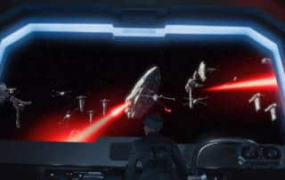 Screenshot from Teaser Trailer for Star Wars: Rise of the Resistance