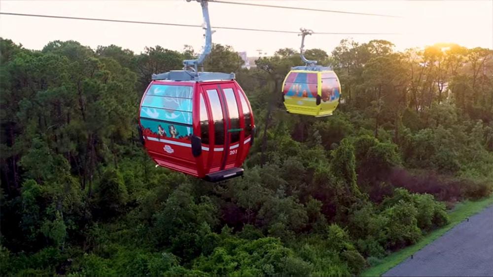 Disney Skyliner's Gondolas