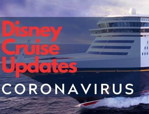 Disney Cruise Alert: Coronavirus Updates